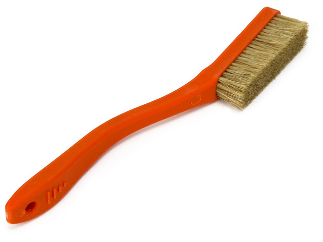 Metolius Deluxe Brosse en poils de sanglier, orange